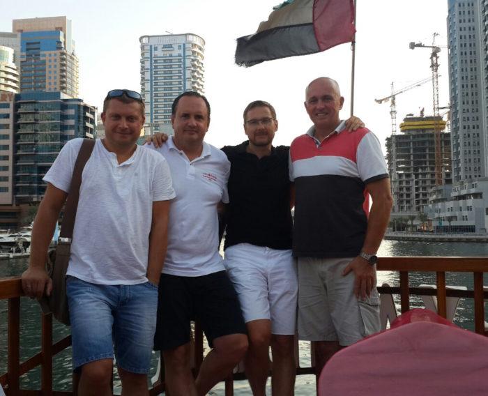 Виталий Глазков и руководство Салве